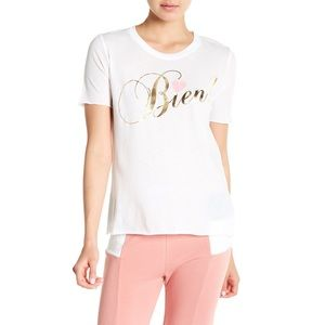 WILDFOX Bien White T-Shirt